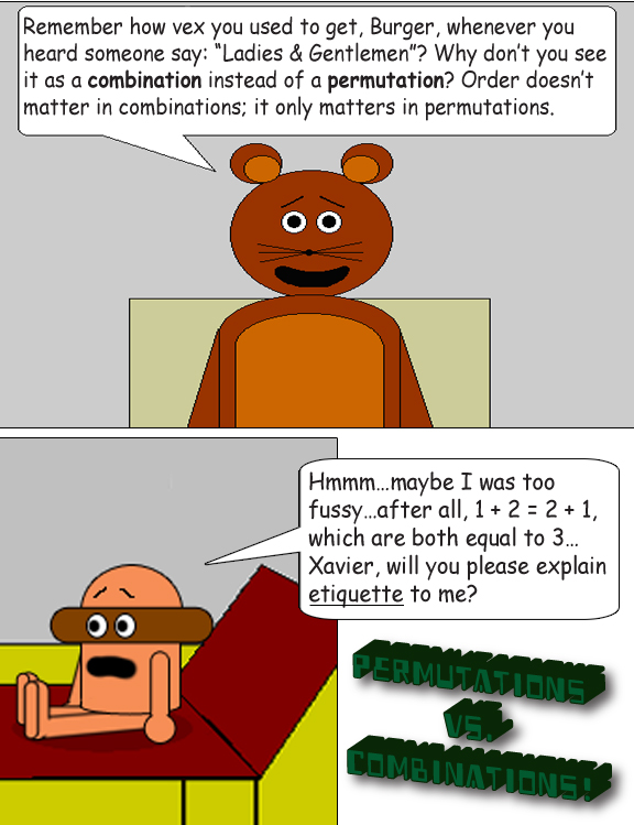 Permutations, Combinations & Factorial Numbers